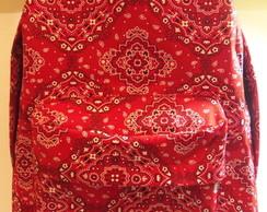 Mochila bandana vermelha (esgotada)