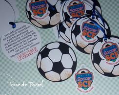 Futebol [convite + tag]