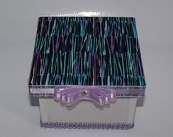 Mini Caixa de Tecido Moderna