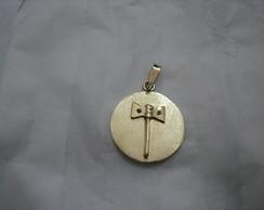Medalha em Ouro com OX� DE XANG�
