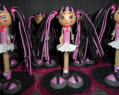 CANETA DECORADA MONSTER HIGH DRACULAURA