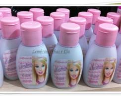 Hidratante para lembrancinha Barbie