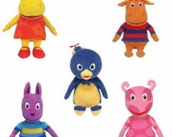 Aluguel Turma do Backyardigans Kit com 5