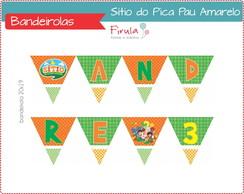 Kit Digital Bandeirolas S�tio Pica Pau