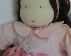 Boneca Waldorf personalizada F�bia Neves