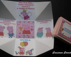 Convite Peppa Pig