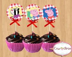 Toppers Peppa Pig e seus amigos