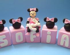 Cubinhos De Nomes Minnie