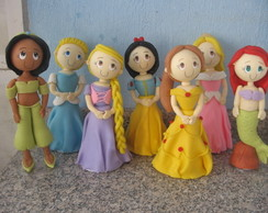 princesas disney pra decorar mesa