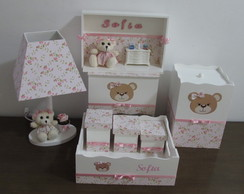 Kit de Higiene Floral 8 pe�as