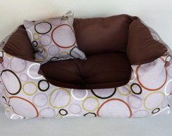 Cama Pet - Dupla Face!  Tam. M - 55x40