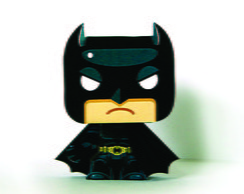 Paper Toy 3D Batman