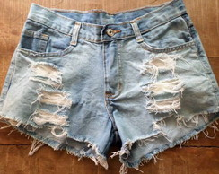 Shorts jeans Hot Pants, destroyed