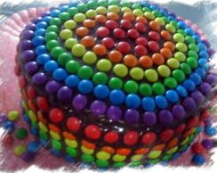 RAINBOW CAKE-BOLO COLORIDO