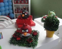 Aluguel Angry Birds em Biscuit kit com 6