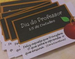 Tag para o dia dos professores