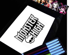 Monster High Kit Para Colorir