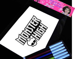 Monster High Kit Para Colorir