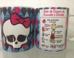 Canecas Personalizadas monsther high