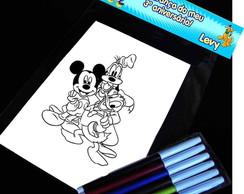 Mickey E Sua Turma Kit Para Colorir