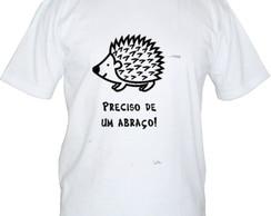 Camiseta abra�o