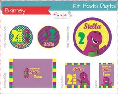 Kit Festa Digital Barney
