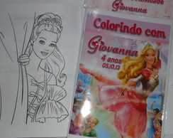 Kit de Colorir Barbie 15x21