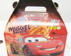 20 caixas Maleta Personalizada Carros
