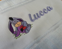 Toalha Lavabo - Bordada - Ursinho Pooh 4