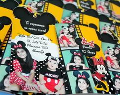 Convite Mickey/Minnie