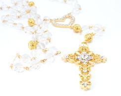Ter�o Barroco - dourado e cristais