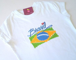 Camiseta, body ou collant - Brasil