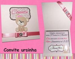 Convite Ursinha