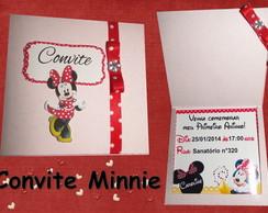 Convite Minnie fita