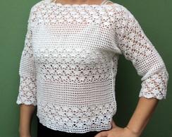 Blusa de Croch�