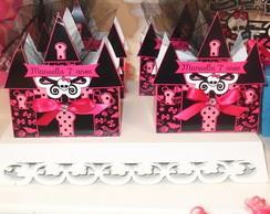 Caixa Castelo Monster High