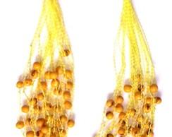 Colar De A�a� (30v - Amarelo)