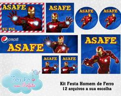 Kit Digital Homem de Ferro