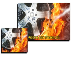 Jogo Americano Hot Wheels