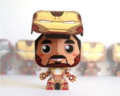 Paper Toy 3D Iron Man - Homem de Ferro
