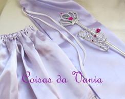 Kit Princesa Sofia com Capa em Cetim