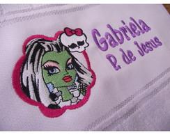 Toalha Bordada Frankie - Monster High