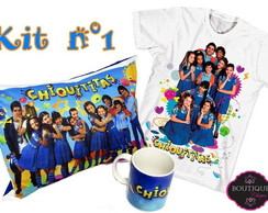 Kit Chiquititas meninas Frete gratis