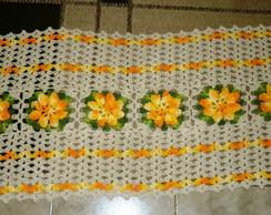 Caminho de mesa Flores
