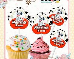 Topper Cupcake 101 Dalmatas