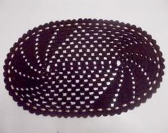 Tapete de croch� - Oval (par)