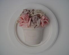 (DA 0024) Quadro decorativo vaso flor