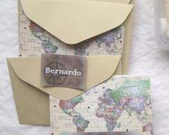 Kit Cart�es: Mapa Mundi