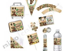 Kit Festa Mickey Safari