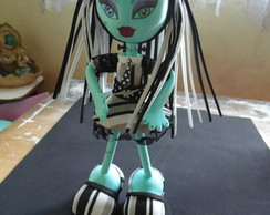 Boneca EVA 3D Monster High Frankie
